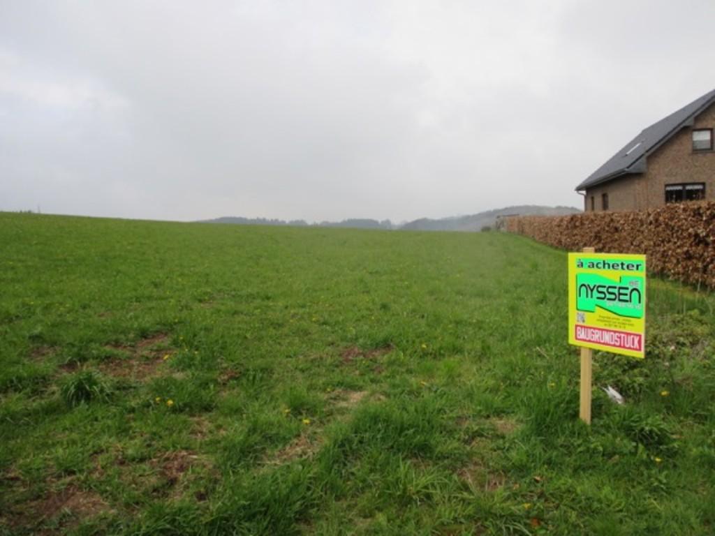 MERLSCHEID: Terrain à bâtir avec prairie